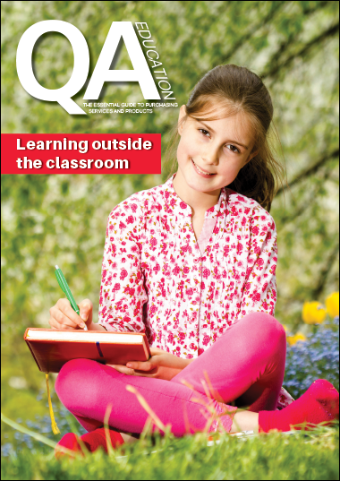 QA Learning outside the classroom online guide front cover