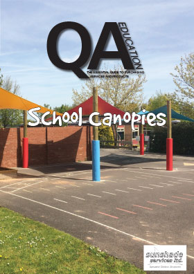 School canopies guide front cover