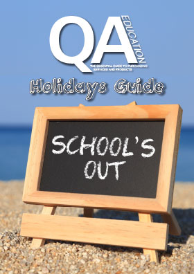 The holiday guide front cover