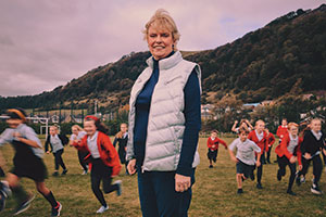 Elaine Wyllie - founder of the Daily Mile