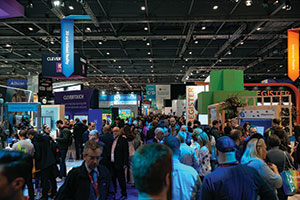 Crowd at Bett show