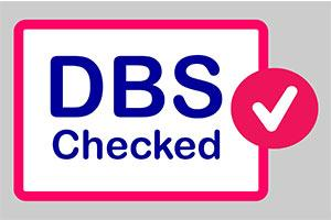 DBS checks with a tick to confirm done
