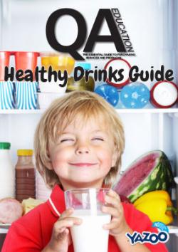 Healthy drinks guide front cover