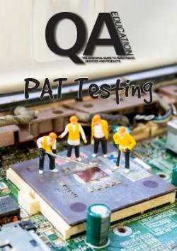 PAT Testing guide front cover
